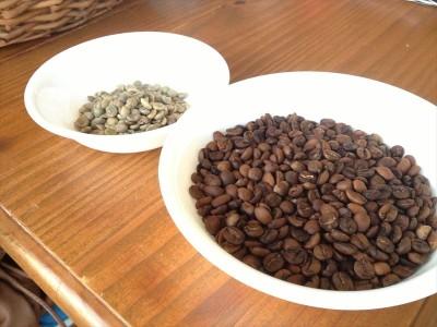 コーヒー豆を中華鍋で焙煎してみた(後編)