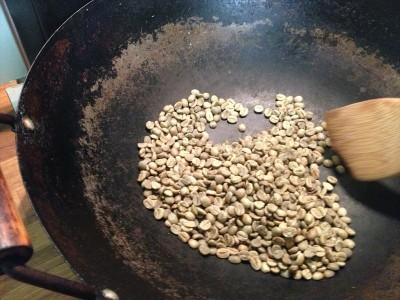 コーヒー豆を中華鍋で焙煎してみた(前編)