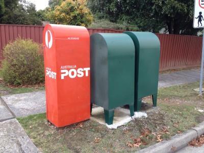 遂に見た!緑の郵便ポストの正体。中身を覗くとそこには。。。