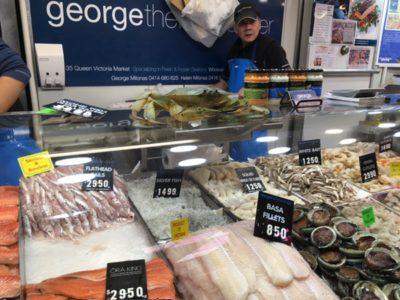 メルボルンでしらす干しが食べたくなったらビクトリアマーケットで魚を買って作れるよ、の巻。