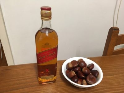 5月21日はウイスキーの日!キャンプでも楽しめるウイスキーと栗を使った秘蔵レシピを公開しちゃいます。
