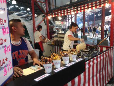 夏のメルボルン・ナイト マーケットは新メニューが目白押し!満腹 食べ歩きレポート